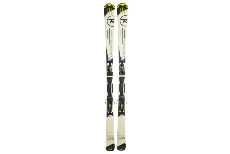 Лижі гірські Rossignol P400 170 Black-White Б/У P400_170_Blk_Wht