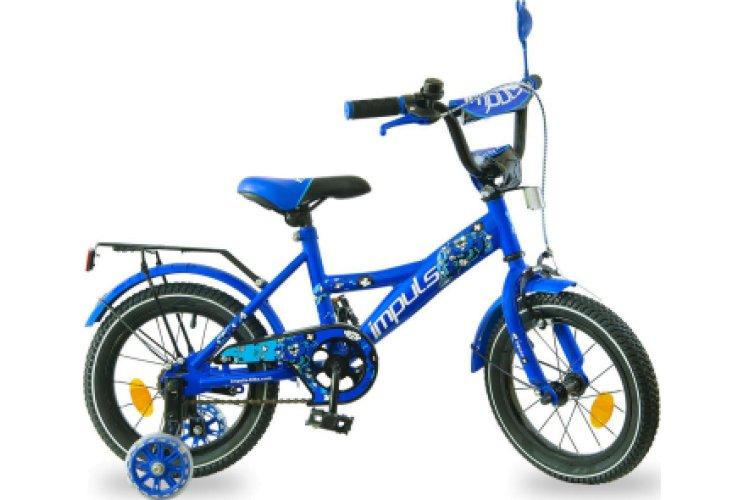 """Велосипед IMPULS KIDS 14"""" салатовый"""